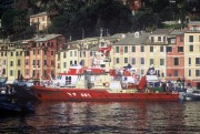 The VF 681 Fire Brigade Naval Unit in Portofino during the event